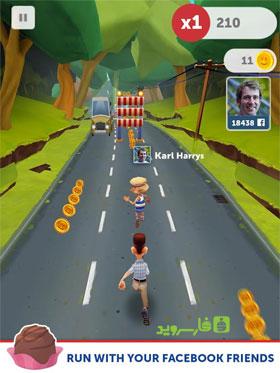 Run Forrest Run - بازی جدید اندروید