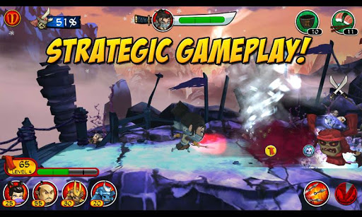 SAMURAI vs ZOMBIES DEFENSE 2 Game Android