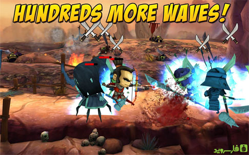 Samurai vs Zombies Defense 2 - بازی جدید اندروید
