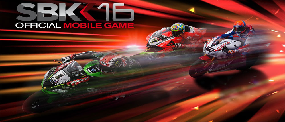 دانلود SBK16 Official Mobile Game - بازی موتور سواری 2016 اندروید + دیتا