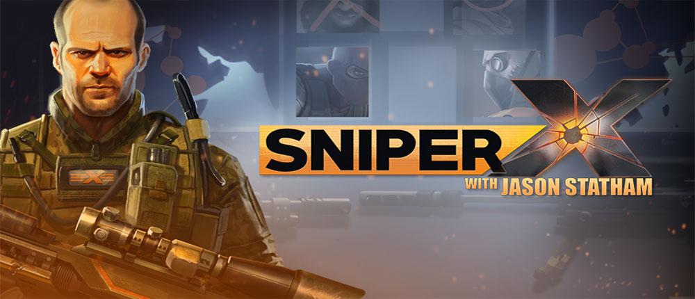 دانلود SNIPER X WITH JASON STATHAM - بازی فوق العاده تک تیراندازی X اندروید
