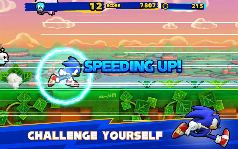 Download SONIC RUNNERS Android Apk + Mod + Obb SD - Gogle Play