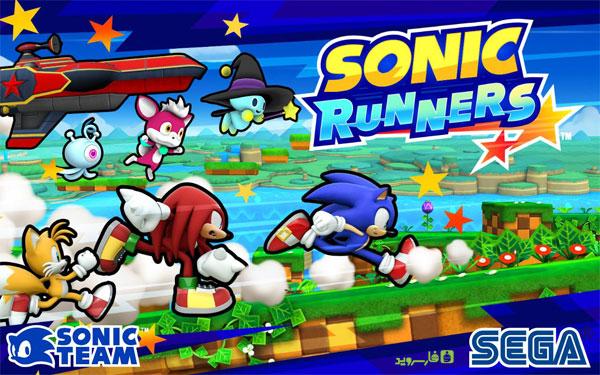 دانلود SONIC RUNNERS - بازی سونیک دونده اندروید + مود + دیتا