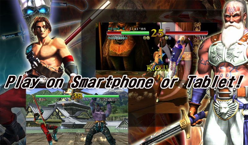 SOULCALIBUR Android Game بازی اندروید