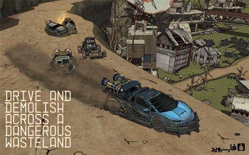 Scorched - Combat Racing Android