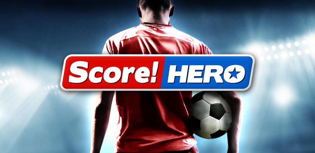 دانلود Score! Hero - بازی فوتبال سبک جدید خارق العاده اندروید + مود + دیتا