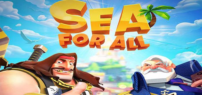 دانلود Sea for All - بازی استراتژیک دریای همه اندروید + دیتا