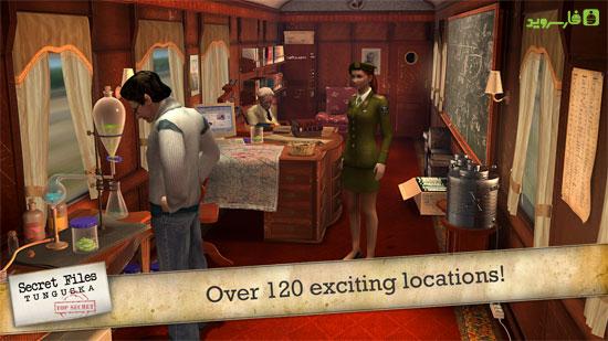 Secret Files Tunguska Android - بازی جدید اندروید !