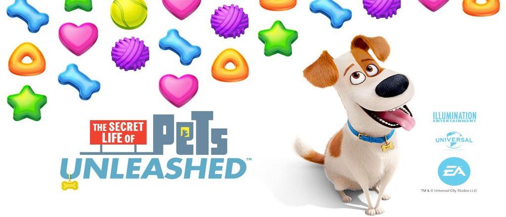 دانلود Secret Life of Pets Unleashed - بازی پازل حیوانات اندروید + مود