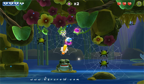Shiny The Firefly Android - بازی ماجراجویی اندروید