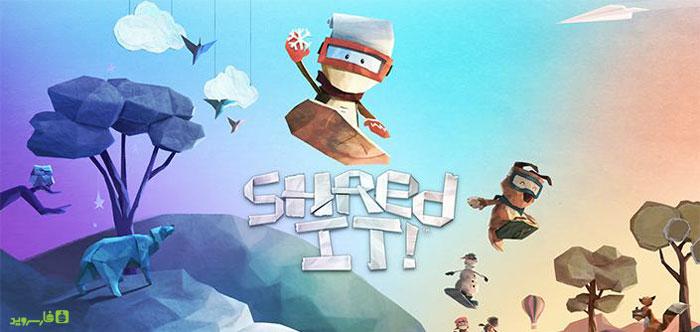 دانلود Shred It! 1.0 – بازی اسنوبورد جدید اندروید + دیتا