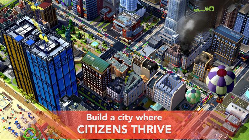 دانلود SimCity BuildIt 1.31.1.92799 – بهترین بازی شهرسازی اندروید + مود