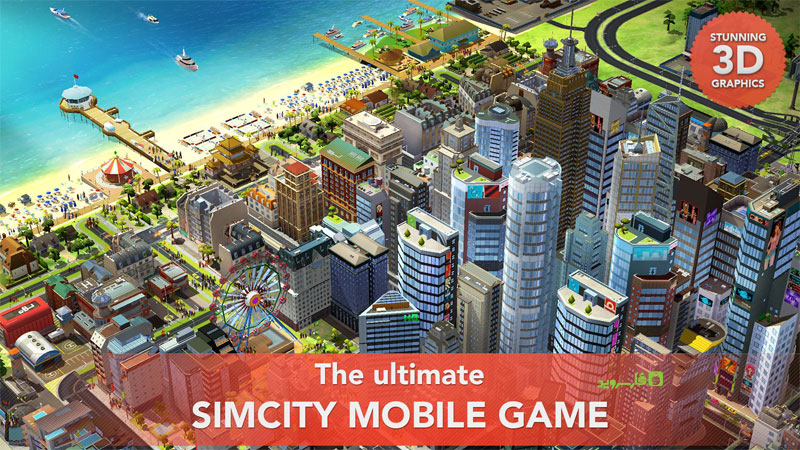 SimCity BuildIt Android - بازی جدید اندروید