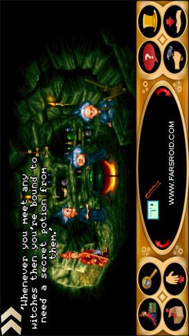 Simon the Sorcerer 2 Android - دانلود بازی رایگان اندروید