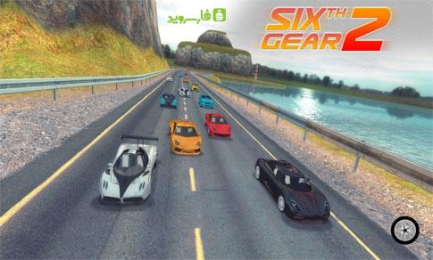 دانلود Sixth Gear 2 - بازی ماشینی دنده ششم 2 اندروید!