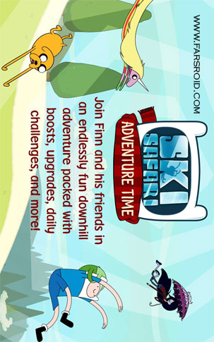 Ski Safari: Adventure Time Android - بازی اندروید