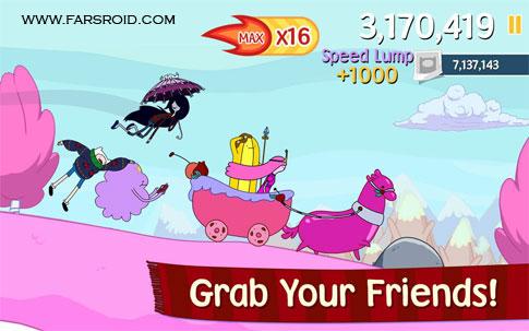 Ski Safari: Adventure Time Android - بازی جدید اندروید