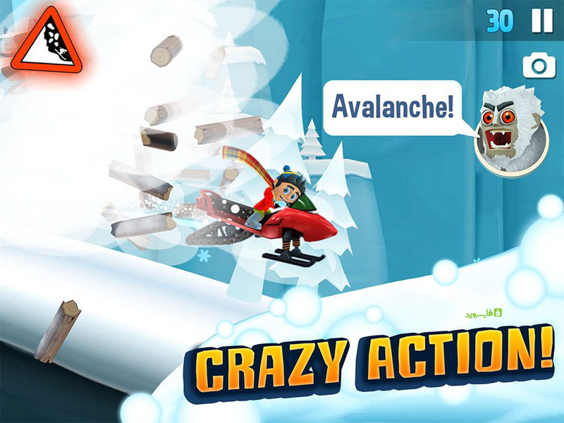 Download Ski Safari 2 Android Apk Original + Mod  Unlimited Coin Money - Google Play