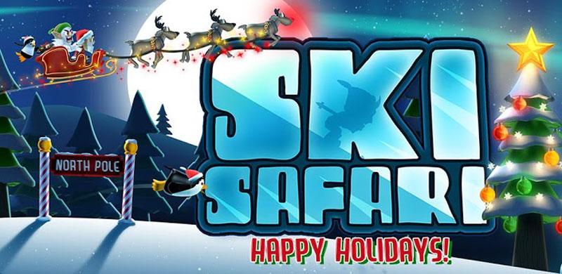 دانلود Ski Safari - بازی اسکی سافاری 1 اندروید + مود