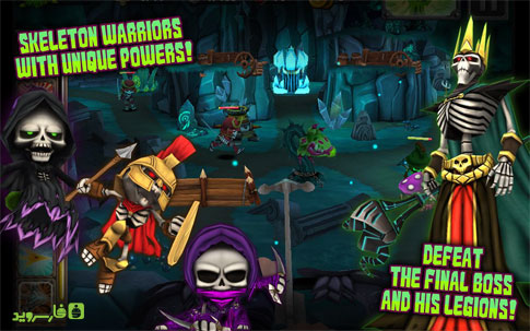 Skull Legends - گیم جدید اندروید Android