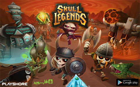 دانلود Skull Legends - بازی افسانه جمجمه اندروید + دیتا