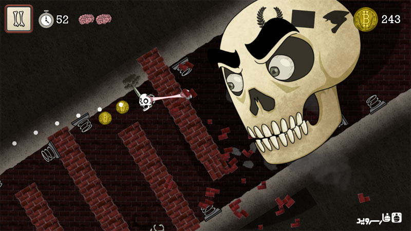 دانلود Skullduggery 1.0 – بازی فرار جمجمه اندروید + دیتا