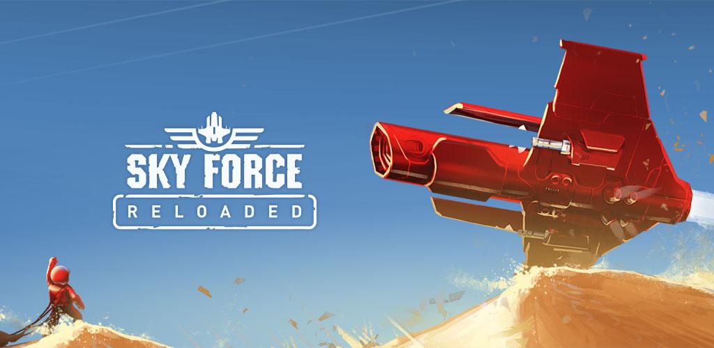 دانلود Sky Force Reloaded 1.00 - بازی خارق العاده نیروی آسمان 2016 اندروید + مود + دیتا