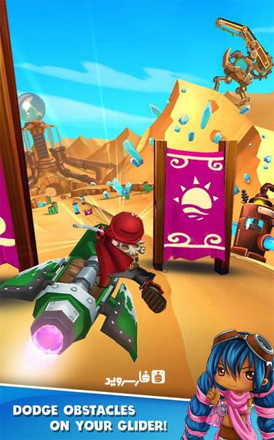 دانلود Sky Punks 1.2.2 – بازی نبرد آسمانی اندروید + مود