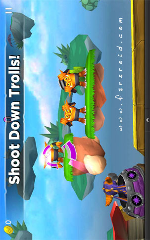 Skylanders Cloud Patrol Android - بازی اندروید