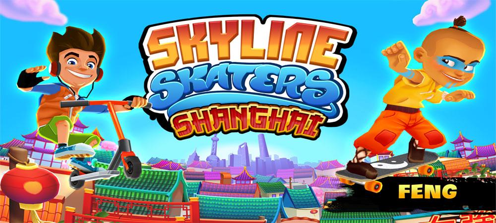 دانلود Skyline Skaters - بازی اسکیت بازان افق اندروید!