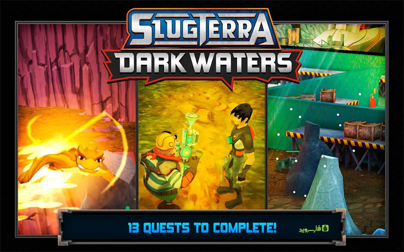 Download Slugterra: Dark Waters Android Apk Original + Mod + Mega Mod - Google Play