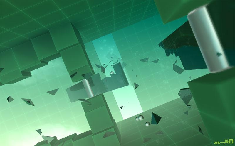 Smash Hit Android - بازی جدید اندروید