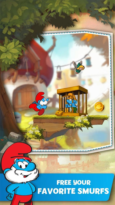 Download Smurfs Epic Run Ubisoft Android Apk + Obb SD - Google Play