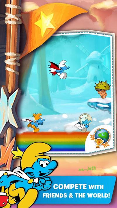 دانلود Smurfs Epic Run 2.9.1 – بازی فوق العاده دوندگی اسمورف ها اندروید + مود + دیتا