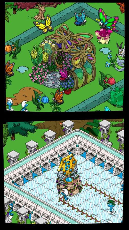Smurfs' Village Android بازی اندروید