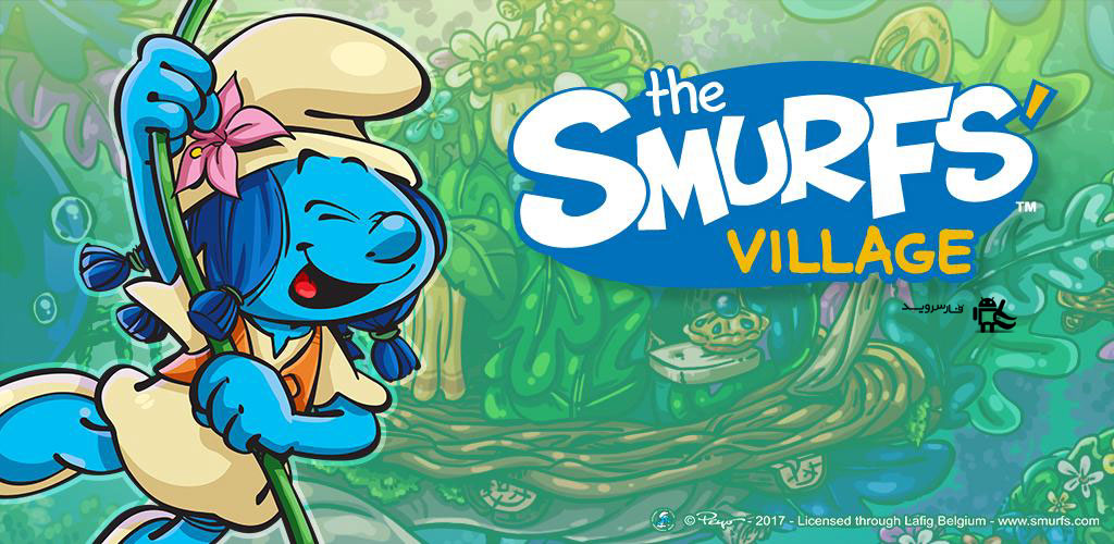 دانلود Smurfs' Village - بازی دهکده اسمورف ها اندروید + دیتا