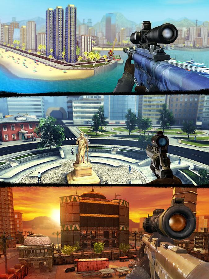 دانلود Sniper 3D Gun Shooter 3.7.4 – بازی قاتل تک تیرانداز اندروید + مود