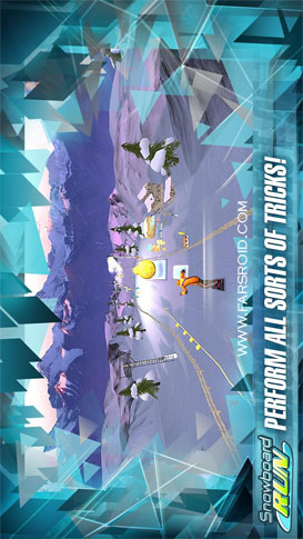 دانلود Snowboard Run 1.8 – بازی ورزشی اسنوبورد اندروید + دیتا