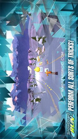 Snowboard Run - بازی اندروید