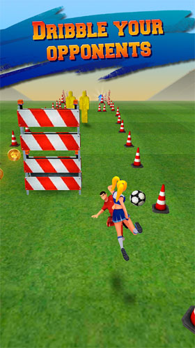 Soccer Runner: Football rush! Android
