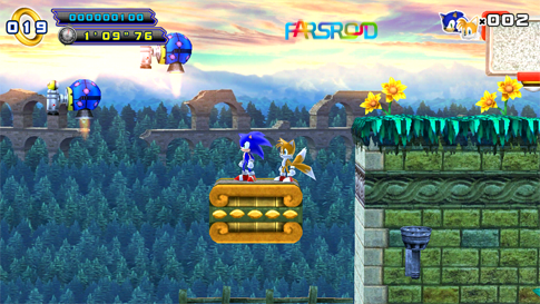 Sonic 4 Episode II Android بازی اندروید