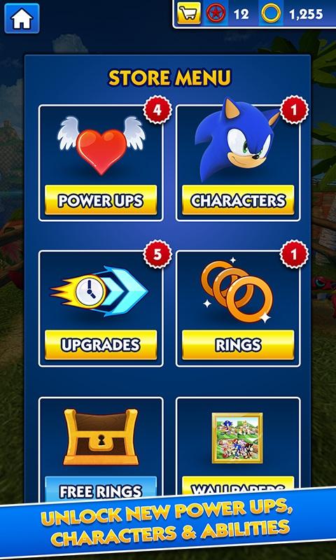 Sonic Dash Android بازی اندروید