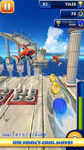 Download Sonic Dash Android Apk Game - NEW