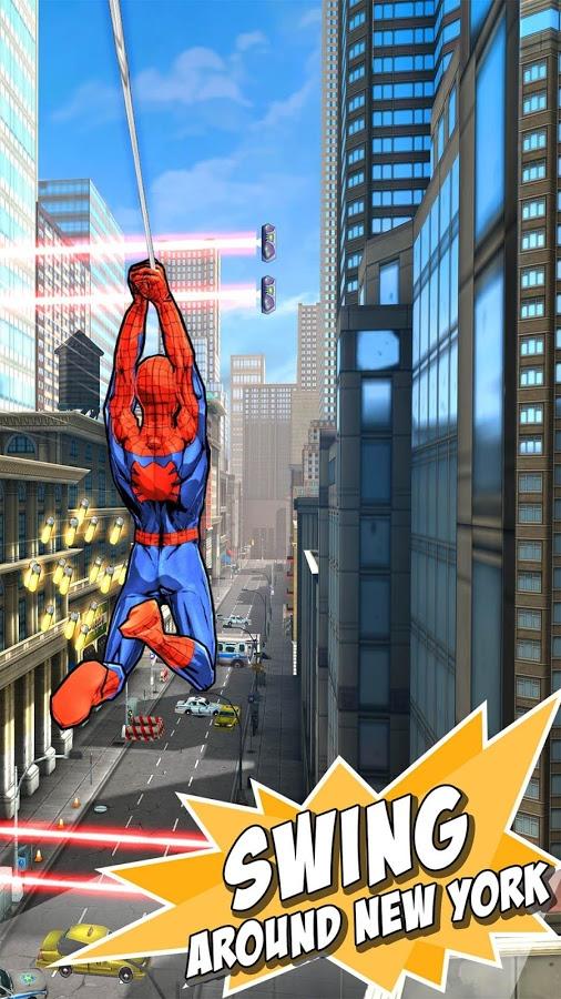 دانلود Spider-Man Unlimited 4.6.0c – بازی مرد عنکبوتی نامحدود اندروید!