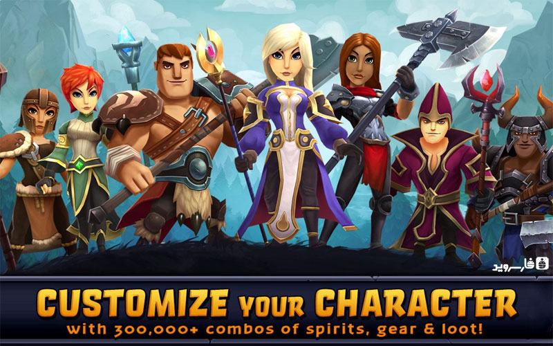 Download Spirit Lords Android Apk Online + Obb SD - Google Play