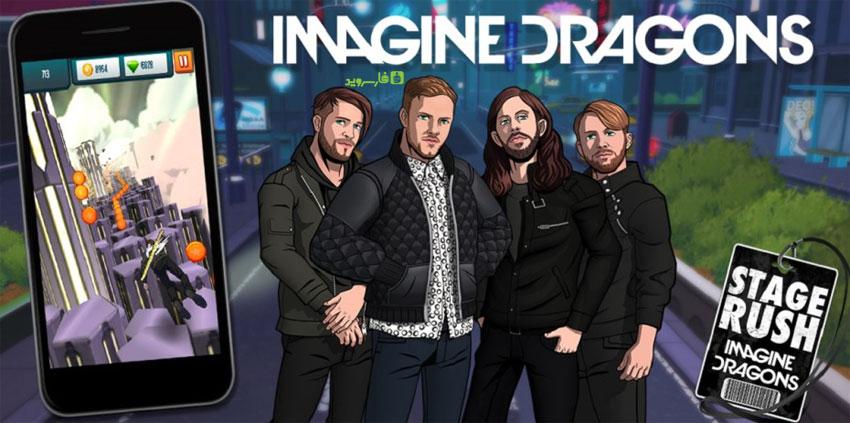 دانلود Stage Rush - Imagine Dragons - بازی فوق العاده اتیج راش اندروید + مود