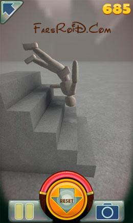 دانلود Stair Dismount 2.9.6 – بازی سه بعدی اندروید + مود