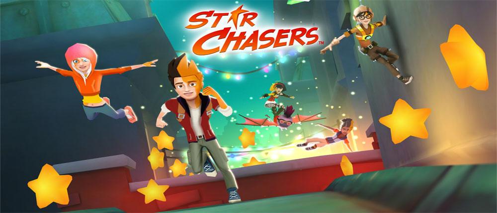 """دانلود Star Chasers - بازی دوندگی عالی """"تعقیب گر ستاره"""" اندروید + مود"""