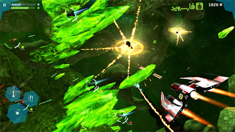 Star Horizon Android - بازی جنگ فضایی اندروید