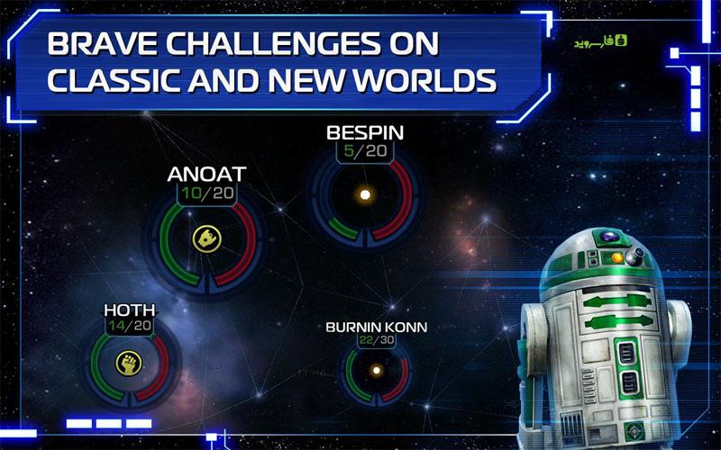 دانلود Star Wars: Uprising 3.0.1 – بازی اکشن جنگ ستارگان: شورش اندروید + مود